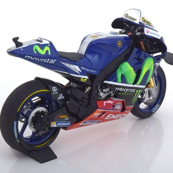 Yamaha YZR-M1 Free Practice Moto GP Sepang 2016 Valentino Rossi 1-12 Minichamps Limited 1224 Pcs