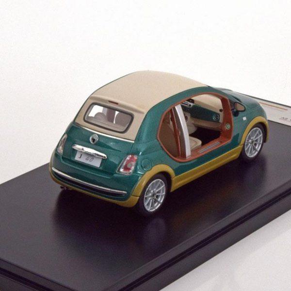 Fiat 500 2009 Castagna EV Kadhafi Groen 1-43 PremiumX Models