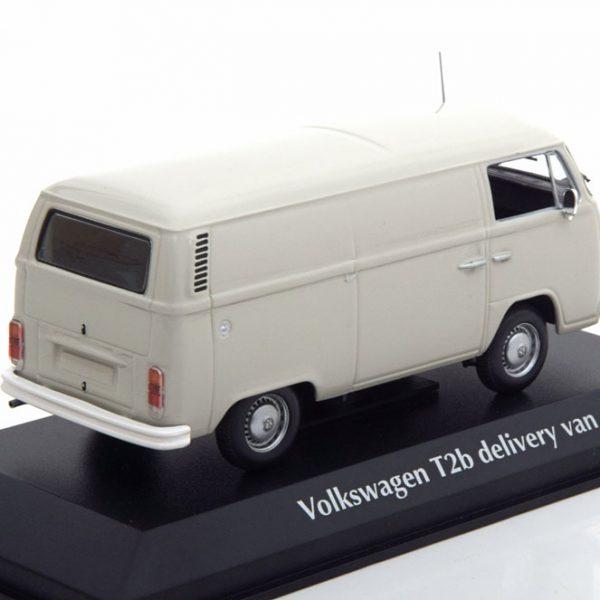 Volkswagen T2B Bus Delivery Van 1972 Grijs 1-43 Maxichamps