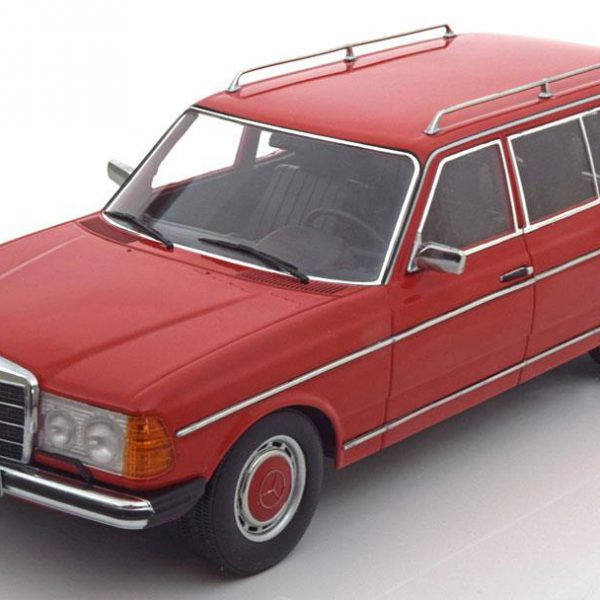 Mercedes-Benz 250T 1978-1982 W123 Rood 1-18 KK Scale Limited 1500 Pieces