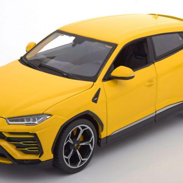 Lamborghini Urus 2018 Geel 1-18 Burago