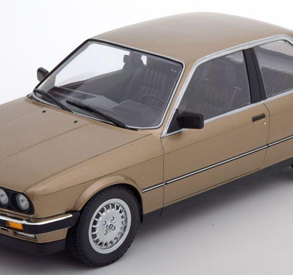 BMW 323i E30 Limousine 1982 Brown metallic 1:18 Minichamps Limited 504 pcs.