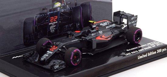 McLaren Honda MP4-31 J Button