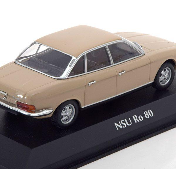 NSU Ro80 1972 Saharabeige 1-43 Maxichamps