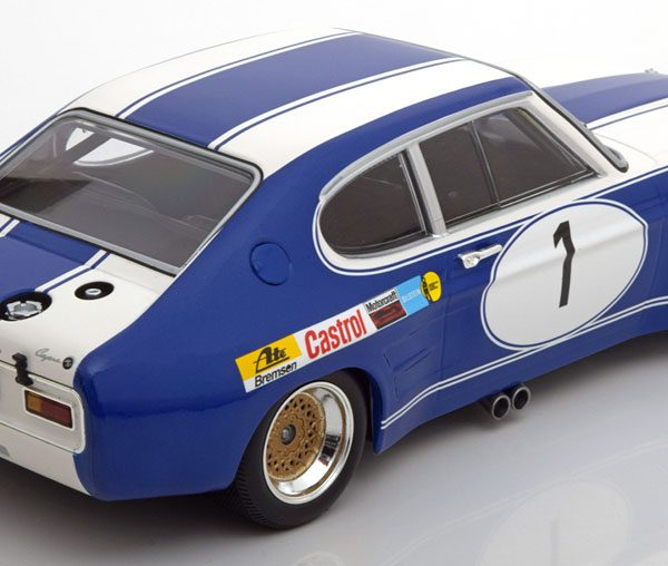 Ford Capri RS 2600 No.1,Sieger BRNO ETC 1972 Glemser 1-18 Minichamps Limited 504 Pieces