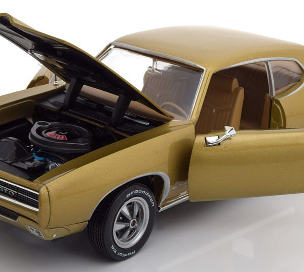 Pontiac GTO 1969 Goud Metallic 1:18 Ertl Autoworld Limited 1002 pcs.