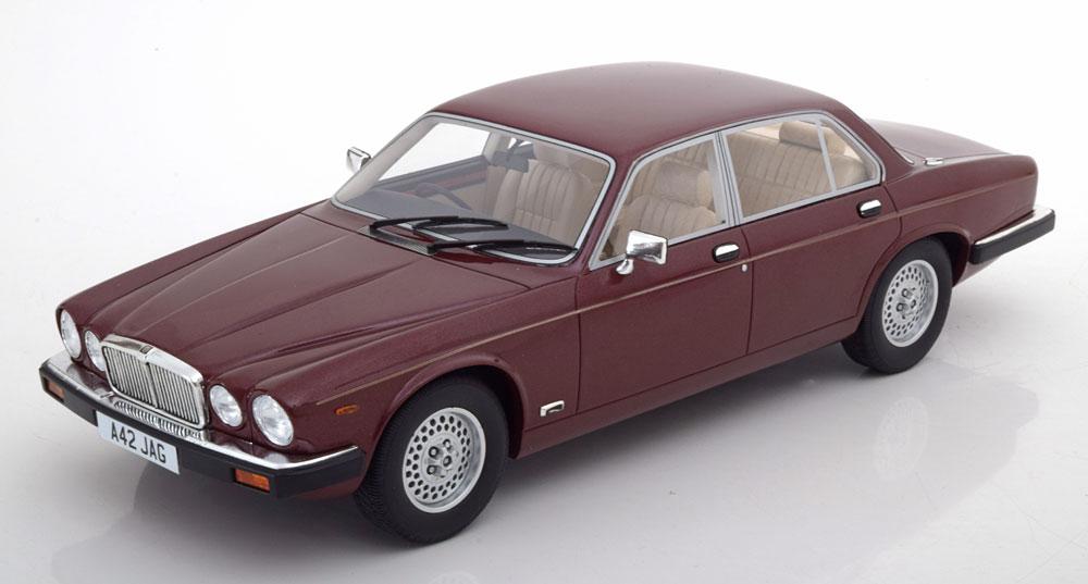 Jaguar XJ SIII Red Metallic '79-'85 Cult Scale Models 1-18 Limited