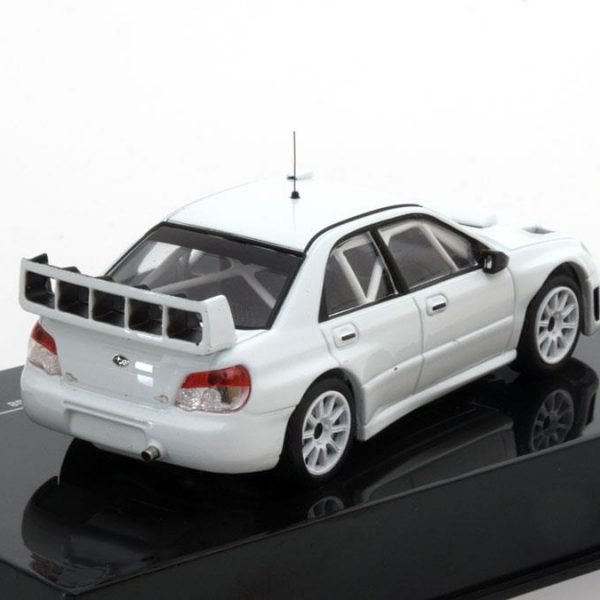 Subaru Impreza S12B Rally Specs 2008 Wit 1-43 Ixo Models Limited Edition