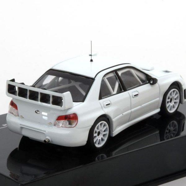 Subaru Impreza S12B Rally Specs 2008 Wit 1-43 Ixo Models Limited Edition