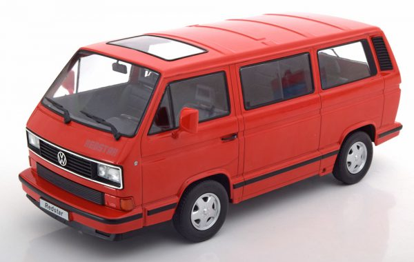 Volkswagen Bus T3 Redstar 1993 Rood 1-18 KK-Scale Limited 500 Pieces