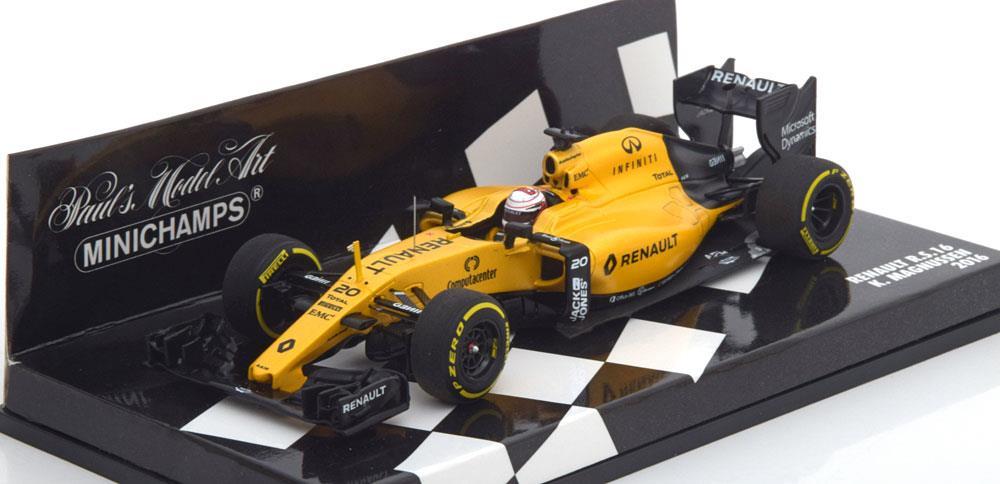 Renault F1 Team R.S.16 K.Magnussen 2016 Minichamps ( Resin ) 1-43