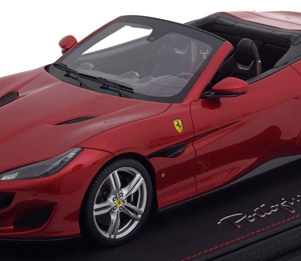 Ferrari Portofino 2017 Rossa Portofino 1-18 BBR Models Limited 300 pcs.