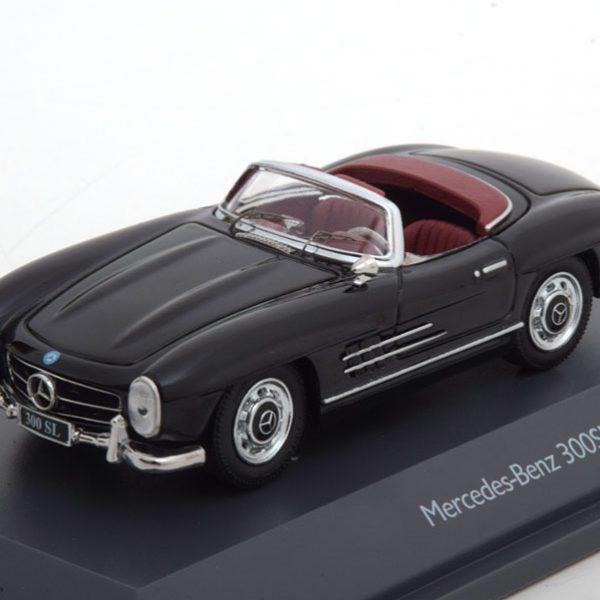 Mercedes-Benz 300 SL Roadster 1954 Zwart 1-43 Schuco Limited 500 Pieces