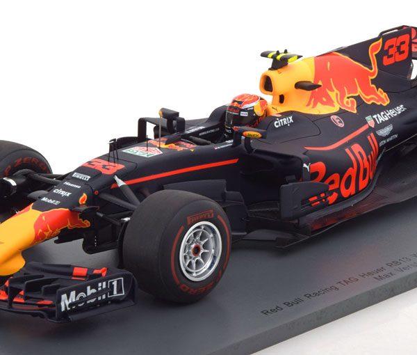 Red Bull Racing RB13 - Max Verstappen - Maleisië 2017 - Spark Modelauto 1:18