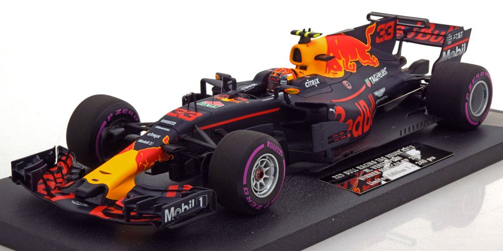 Red Bull Racing Tag Heuer RB13 Sieger GP Mexico 2017 Max Verstappen 1-18 Minichamps Limited 240 Pieces