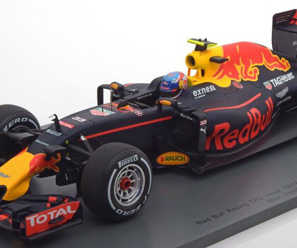 Red Bull Racing RB12 #33 Max Verstappen Winner GP Spanje 2016 1:18 Spark