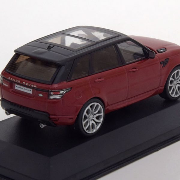 Range Rover Sport 2014 Bordeaux Rood / Zwart 1-43 Whitebox Limited 1000 Pieces