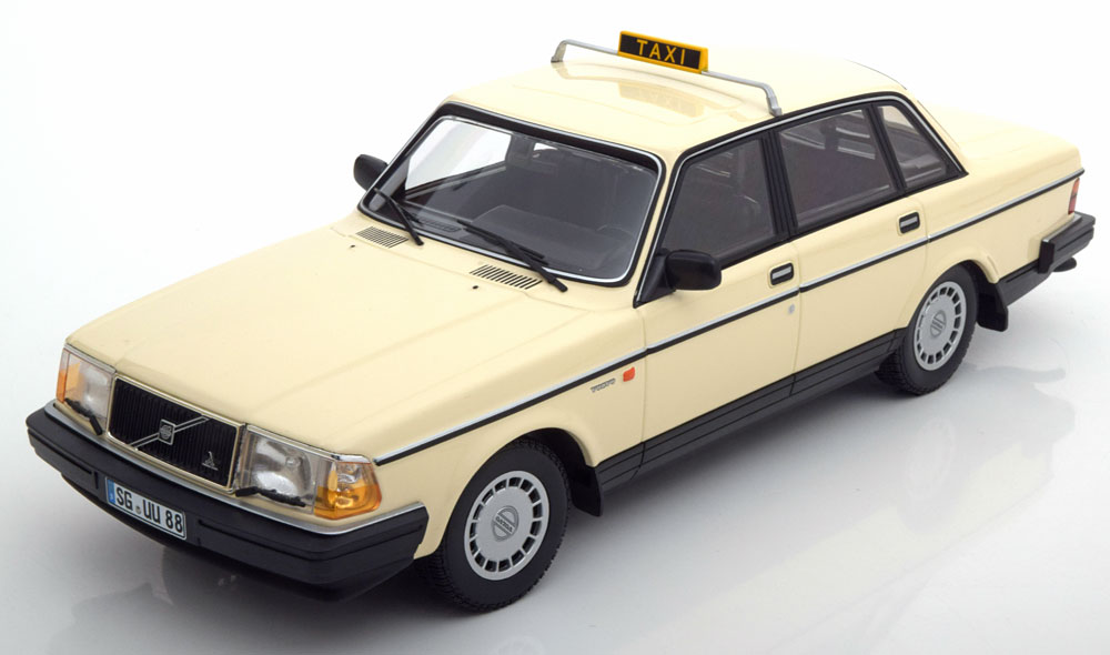 Volvo 240 GL 1986 Taxi 1-18 Minichamps Limited 300 Pieces