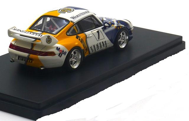 """Porsche 911 (993) Cup 3.8 VIP Car, Porsche Supercup 1996 """"Warsteiner""""1-43 Schuco Pro R Limited 750 Pieces"""