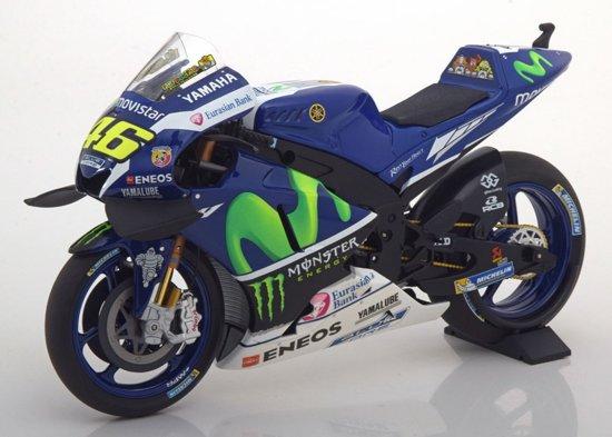 Yamaha YZR-M1 No 46 Moto GP 2016 Movistar Valentino Rossi