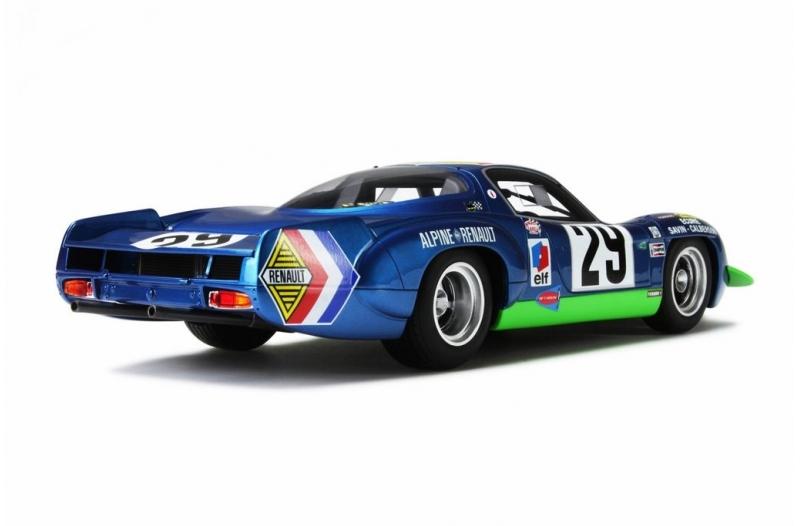 Renault Alpine A220 Le Mans 1969 1-18 Ottomobile Limited 1750 Pieces