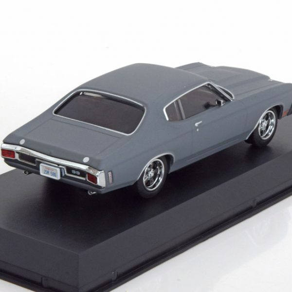 """Chevrolet Chevelle SS """"Fast And Furious"""" Matgrijs 1:43 Greenlight Collectibles"""