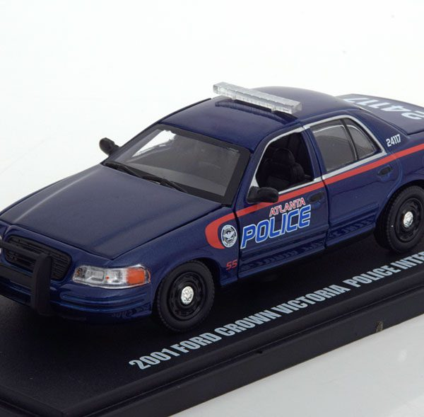 "Ford Crown Victoria Police 2001 ""The Walking Dead ""1-43 Greenlight Collectibles"