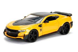 "Chevrolet Camaro 2016 ""Bumblebee"" Geel 1-24 Jadatoys Transformers"