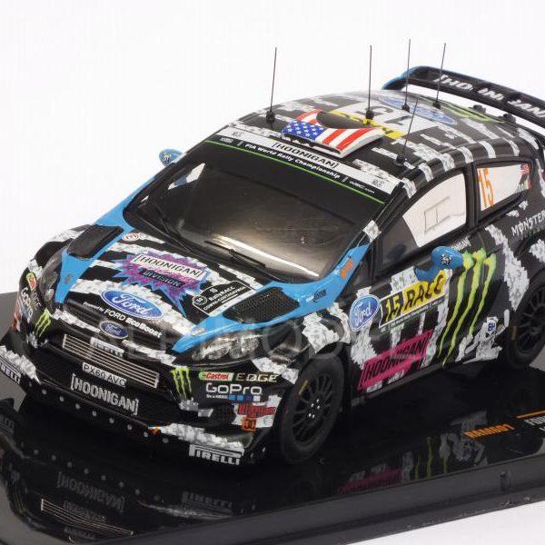 Ford Fiesta RS WRC #15 Rallye Catalonië 2014 Block, Alessandro 1:43 Ixo Models
