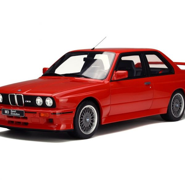 BMW E30 M3 Sport Evolution 1990 Brillant Rood 1/12 Ottomobile Limited Resin