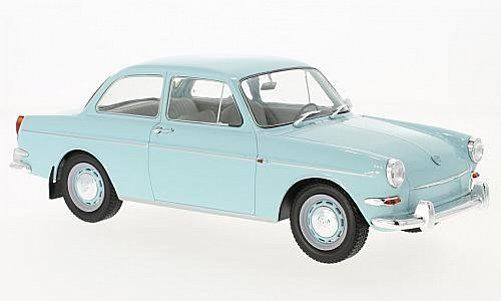 Volkswagen 1500S Type 3 1963 Very Light Blue 1:18 MCG Models
