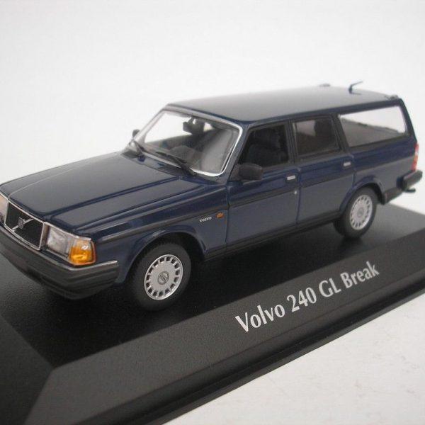 Volvo 240 GL Break 1986 Donkerblauw 1-43 Maxichamps