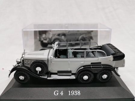 Mercedes-Benz G4 1938 Grijs 1-43 Altaya Mercedes-Benz Collection