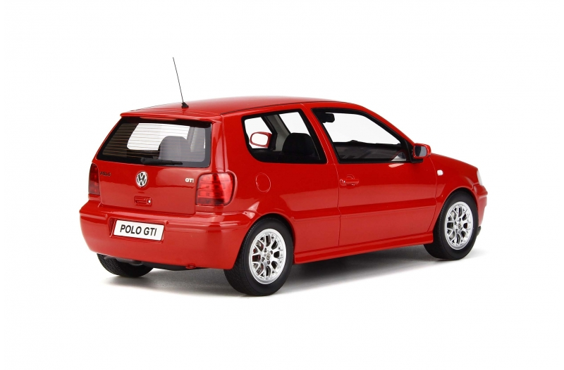 Volkswagen Polo GTi 2001 Limited 1500 pcs. Rood 1:18 Otto mobile