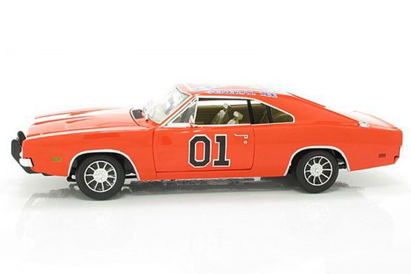 "Dodge Charger 1969 General Lee ""Dukes of Hazzard 1-18 Ertl"