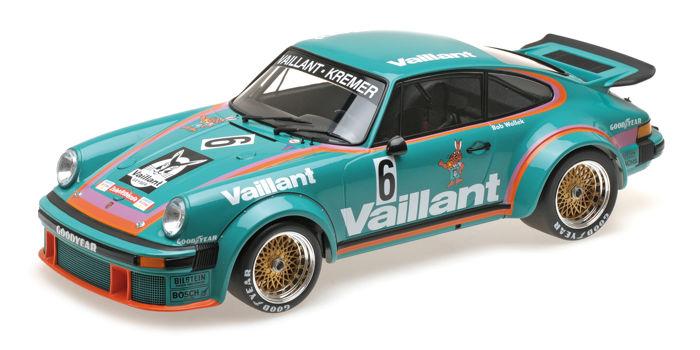 Porsche 934 No.6, Sieger DRM Norisring 1976 Wollek Kremer Racing 1-12 Minichamps