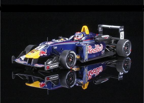 Dallara VW F314 - Max Verstappen - Red Bull - Macau 2014 1:43