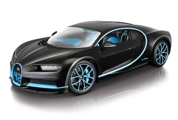 Bugatti Chiron Zero-400-Zero Montoya #42 1-18 Burago NEW