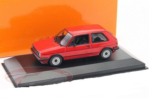 Volkswagen Golf II GTi 1985 Rood 1-43 Maxichamps