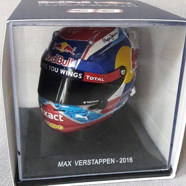 Helm 2016 Max Verstappen- Spark - Red Bull F1 Scale 1/5 Limited 500 Pieces