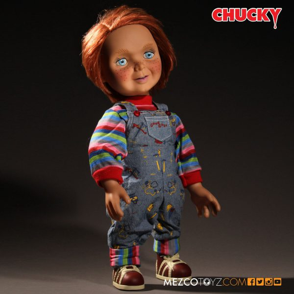 Chucky Mezco Good Guys Talking Figure 18 Inch ( 40 CM )Mezco Toys