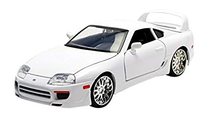 Toyota Supra Brian´s 'Fast and Furious 7' 2015 Wit 1-24 Jada Toys