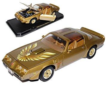 Pontiac Firebird Trans-am 1979 Goud 1:18 Lucky Diecast
