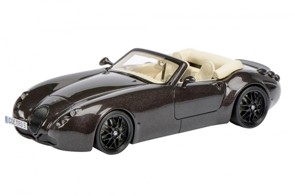 Wiesmann Roadster MF5 Bruin metallic 1:43 Schuco Pro-R