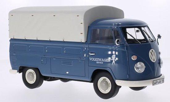 """Volkswagen T1 Pick Up + Huif """"Volkswagen Service"""" 1/18 Premium Classixxs"""