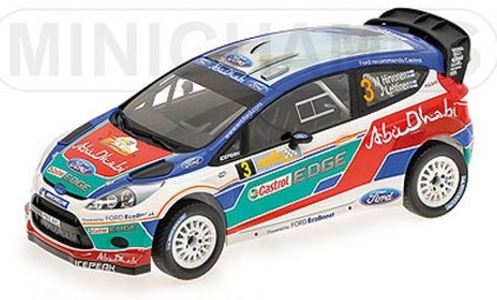 Ford Fiesta RS WRC #3 Presentation Abu Dhabi 2011 1:18 Minichamps Limited 1002 pcs.