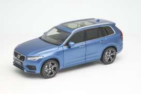 Volvo XC90 R Design 2015 Blauw 1/18 Welly GT