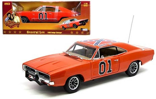 "Dodge Charger ""Dukes of Hazzard"" General Lee 1969 Oranje 1:18 Autoworld"