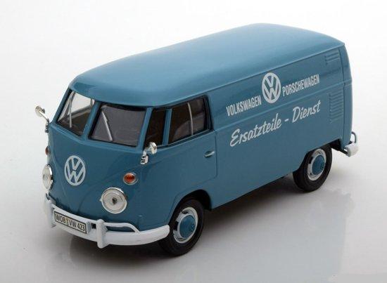 Volkswagen T1 Type 2 Ersatzteile Dienst Blauw 1-24 Motormax