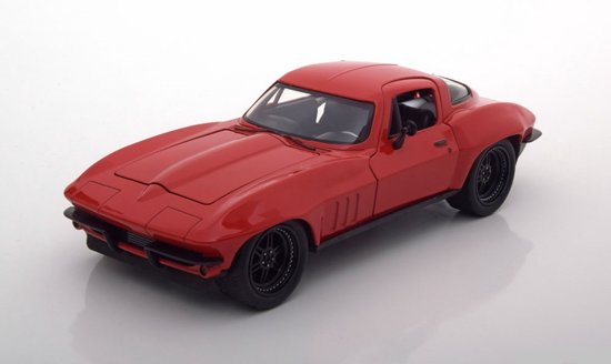 "Chevrolet Corvette Letty's ""Fast and Furious 8"" Rood 1:24 Jada Toys"